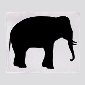 ELEPHANTS EVERYWHERE Throw Blanket