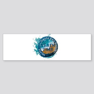 Florida - Siesta Key Beach Bumper Sticker