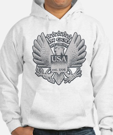 In God We Trust - USA 1776 Hoodie