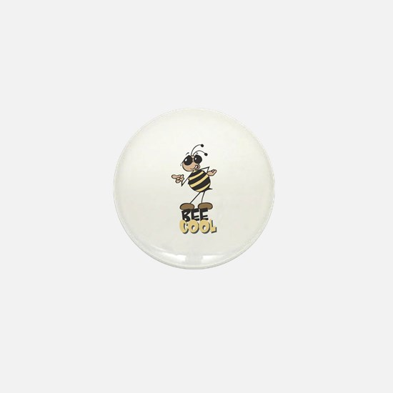 Be Cool Bee Mini Button