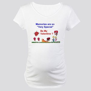 Valentine Mom and Dad Maternity T-Shirt