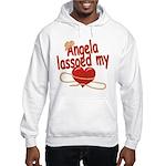 Angela Lassoed My Heart Hooded Sweatshirt