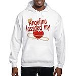 Angelina Lassoed My Heart Hooded Sweatshirt