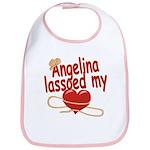 Angelina Lassoed My Heart Bib
