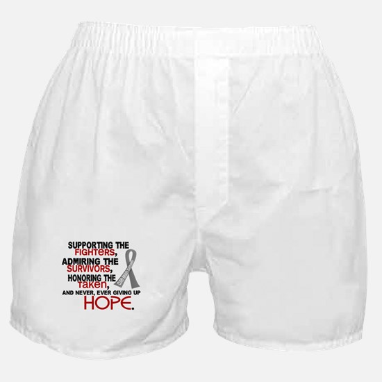 © Supporting Admiring 3.2 Brain Cancer Shirts Boxe