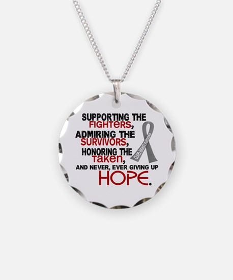 © Supporting Admiring 3.2 Brain Cancer Shirts Neck