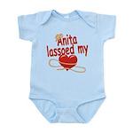 Anita Lassoed My Heart Infant Bodysuit