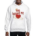Ann Lassoed My Heart Hooded Sweatshirt