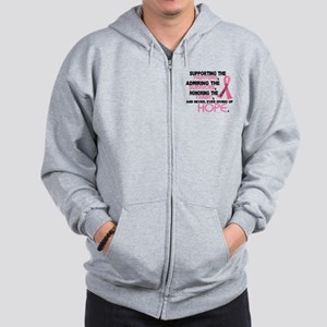 © Supporting Admiring 3.2 Breast Cancer Shirts Zip