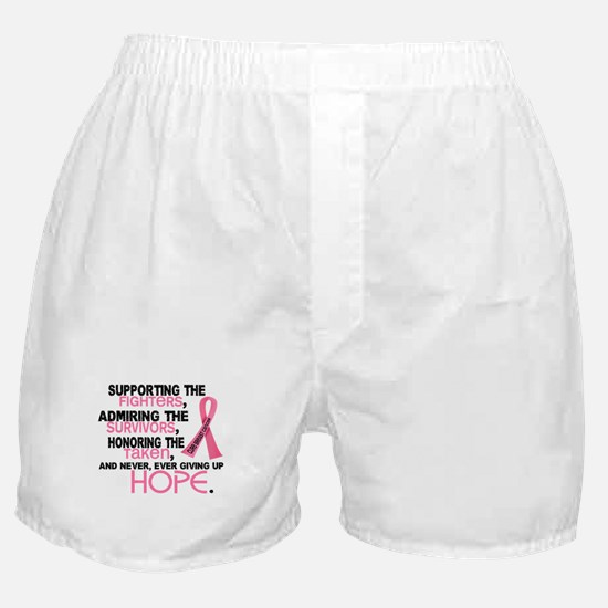 © Supporting Admiring 3.2 Breast Cancer Shirts Box