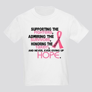 © Supporting Admiring 3.2 Breast Cancer Shirts Kid