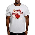 Annette Lassoed My Heart Light T-Shirt