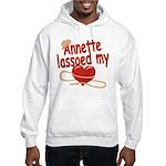 Annette Lassoed My Heart Hooded Sweatshirt