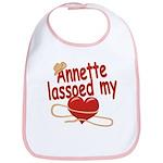 Annette Lassoed My Heart Bib