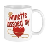 Annette Lassoed My Heart Mug