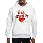Annie Lassoed My Heart Hooded Sweatshirt