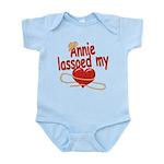 Annie Lassoed My Heart Infant Bodysuit