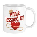 Annie Lassoed My Heart Mug