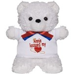 Annie Lassoed My Heart Teddy Bear