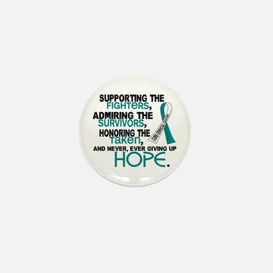 © Supporting Admiring 3.2 Cervical Cancer Shirts M