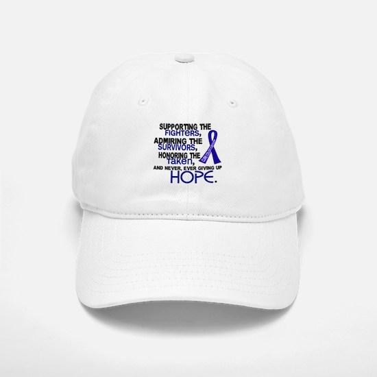 © Supporting Admiring 3.2 Colon Cancer Shirts Baseball Baseball Cap