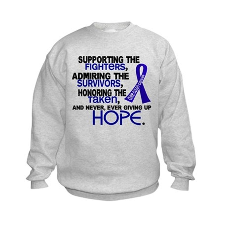 © Supporting Admiring 3.2 Colon Cancer Shirts Kids