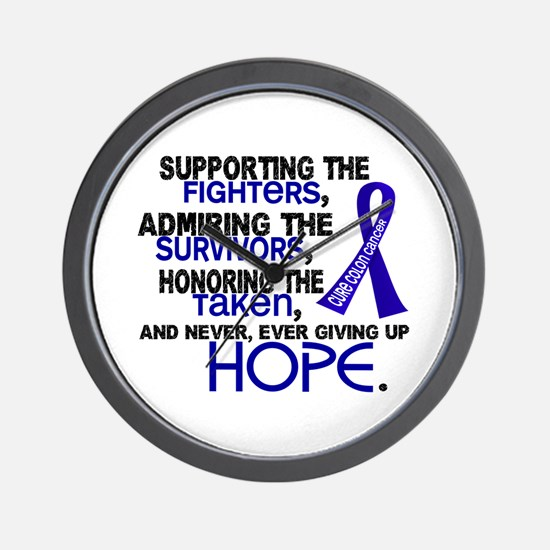 © Supporting Admiring 3.2 Colon Cancer Shirts Wall