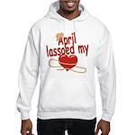 April Lassoed My Heart Hooded Sweatshirt