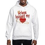 Arlene Lassoed My Heart Hooded Sweatshirt
