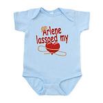 Arlene Lassoed My Heart Infant Bodysuit
