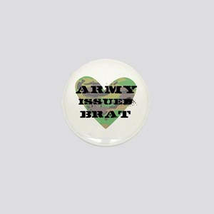 Army Issued Brat Mini Button