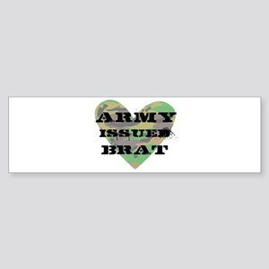 Army Issued Brat Sticker (Bumper)