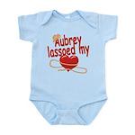 Aubrey Lassoed My Heart Infant Bodysuit