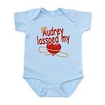 Audrey Lassoed My Heart Infant Bodysuit