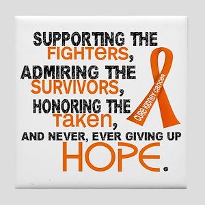 © Supporting Admiring 3.2 Kidney Cancer Shirts Til