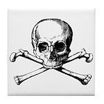Skull & Cross Bones Tile Coaster
