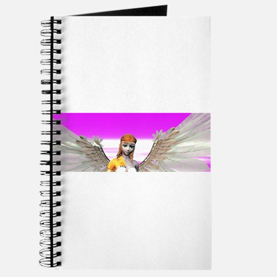 Beautiful Angel With Wings Journal