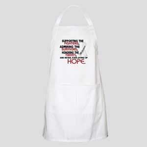© Supporting Admiring 3.2 Lung Cancer Shirts Apron