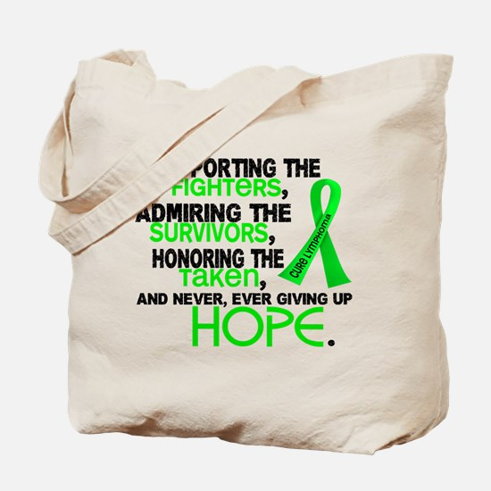 © Supporting Admiring 3.2 Lymphoma Shirts Tote Bag