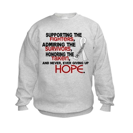 © Supporting Admiring 3.2 Mesothelioma Shirts Kids