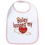 Bailey Lassoed My Heart Bib