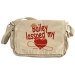 Bailey Lassoed My Heart Messenger Bag
