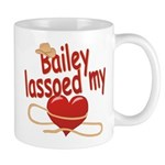 Bailey Lassoed My Heart Mug