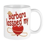 Barbara Lassoed My Heart Mug