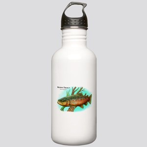 Brown Trout Stainless Water Bottle 1.0L