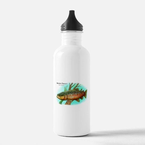 Brown Trout Water Bottle
