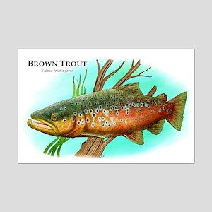 Brown Trout Mini Poster Print