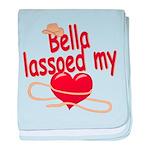 Bella Lassoed My Heart baby blanket