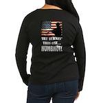 Numbnut Women's Long Sleeve Dark T-Shirt
