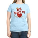 Beth Lassoed My Heart Women's Light T-Shirt